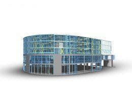 Vizualizacia-administrativna-budova-z-lahkej-ocelovej-konstrukcie
